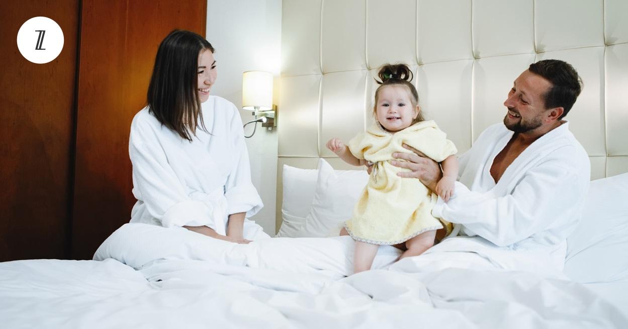 happy family on Sofzsleep mattress