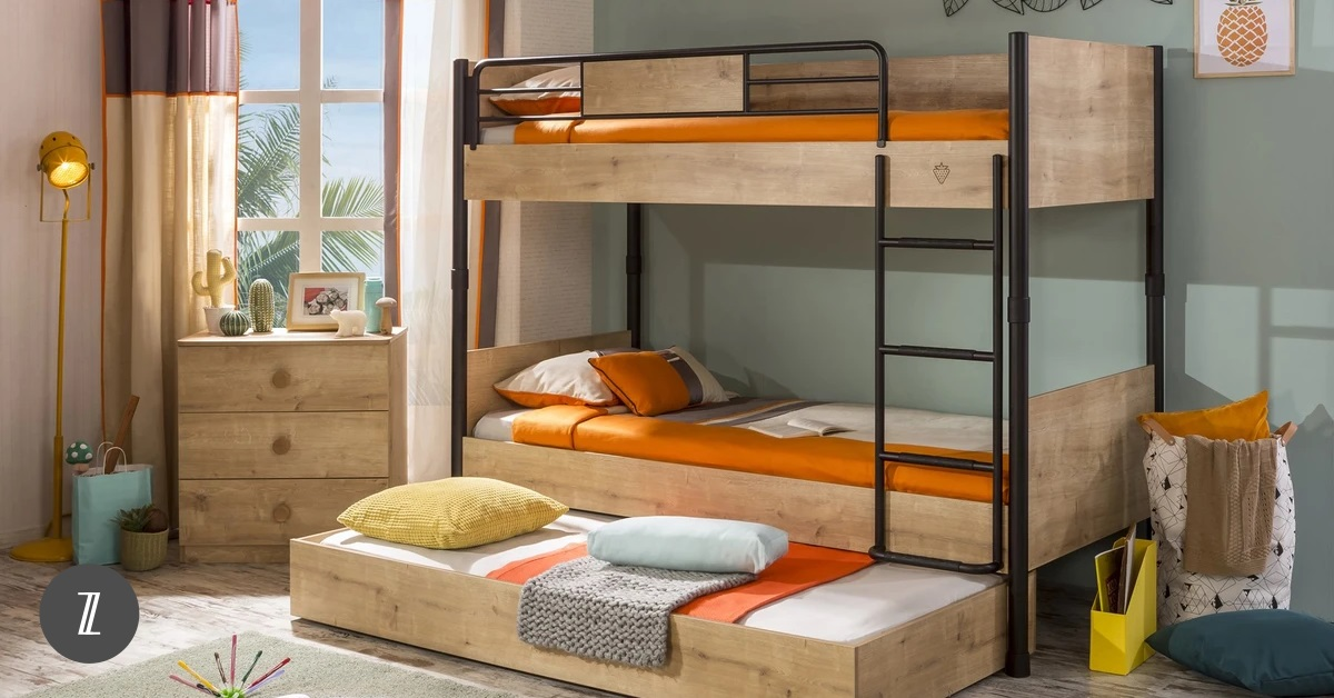 Save Space and Inject Fun into Your Children's Bedroom with a Bunk Bed!